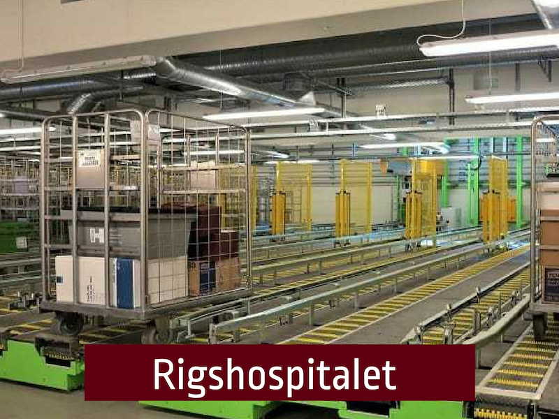 , Goods handling & Goods reception, Gibotech