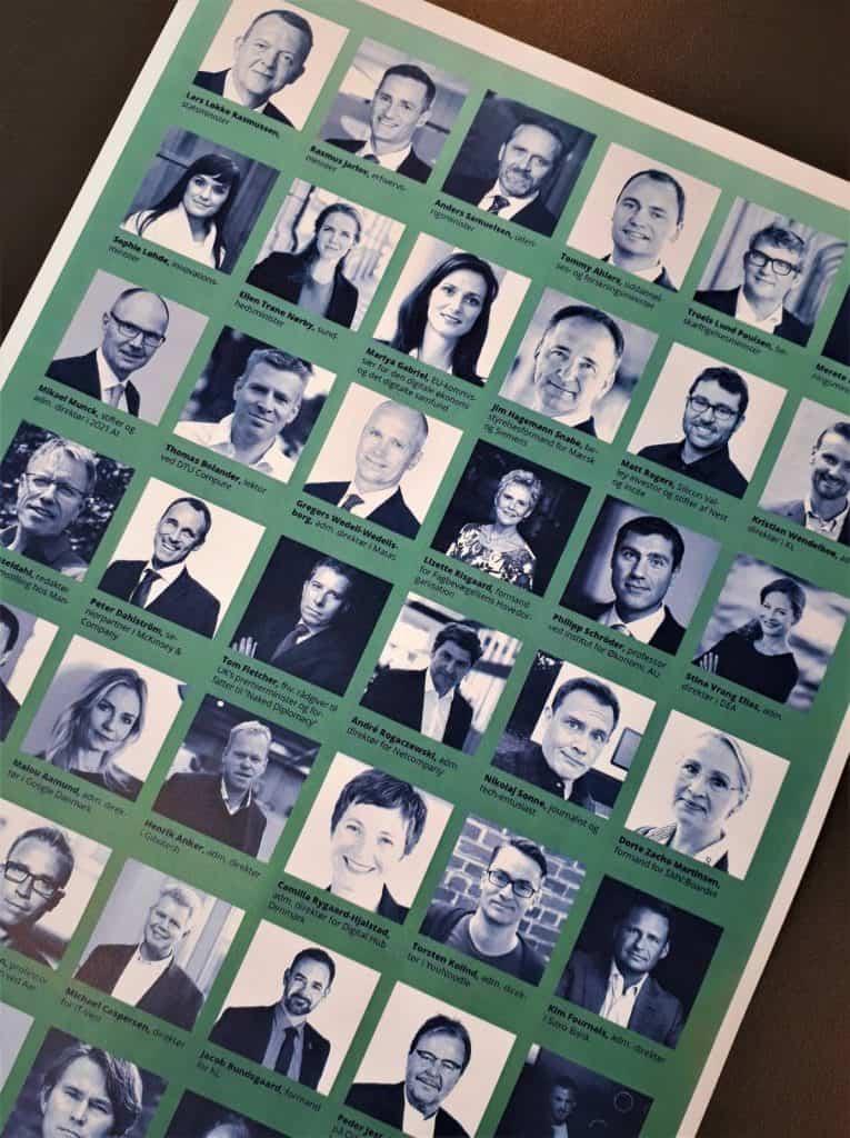 Deltagerne på Digitalt Topmøde