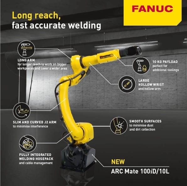 Robotnyheder fra FANUC
