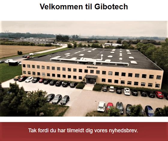 Nyheder, Gibotech