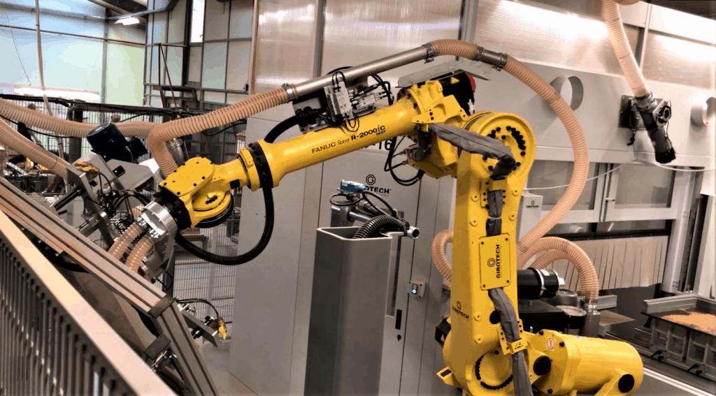 fanuc robot cms cnc maskine