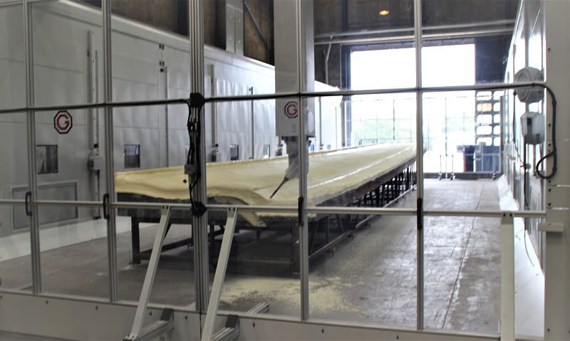 Dencam laver forme til vindmøllevinger