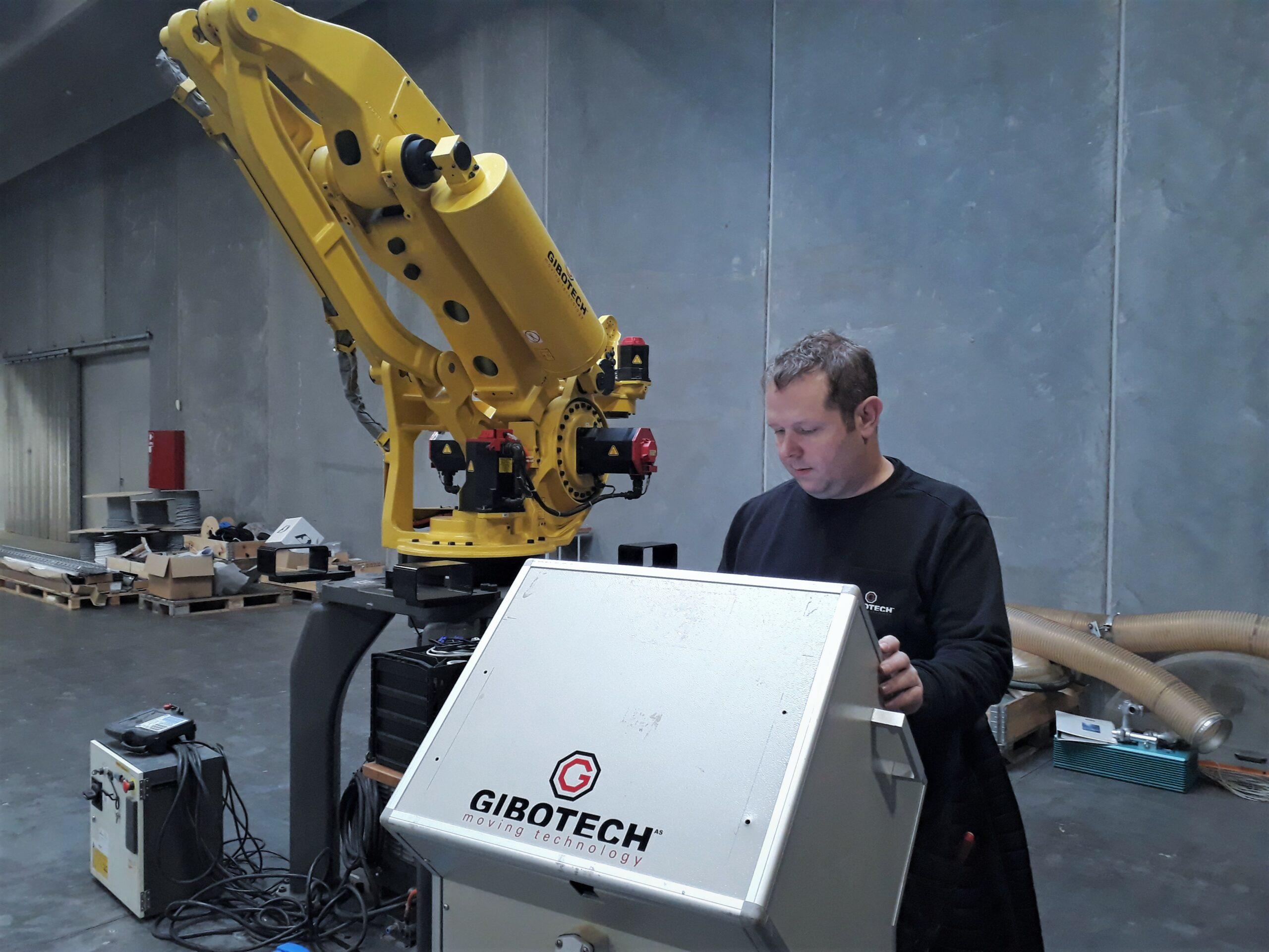 Thomas Nielsen, CNC tekniker, Gibotech