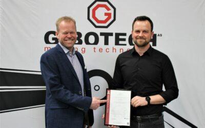 Gibotech certificeret efter ISO 9001:2015