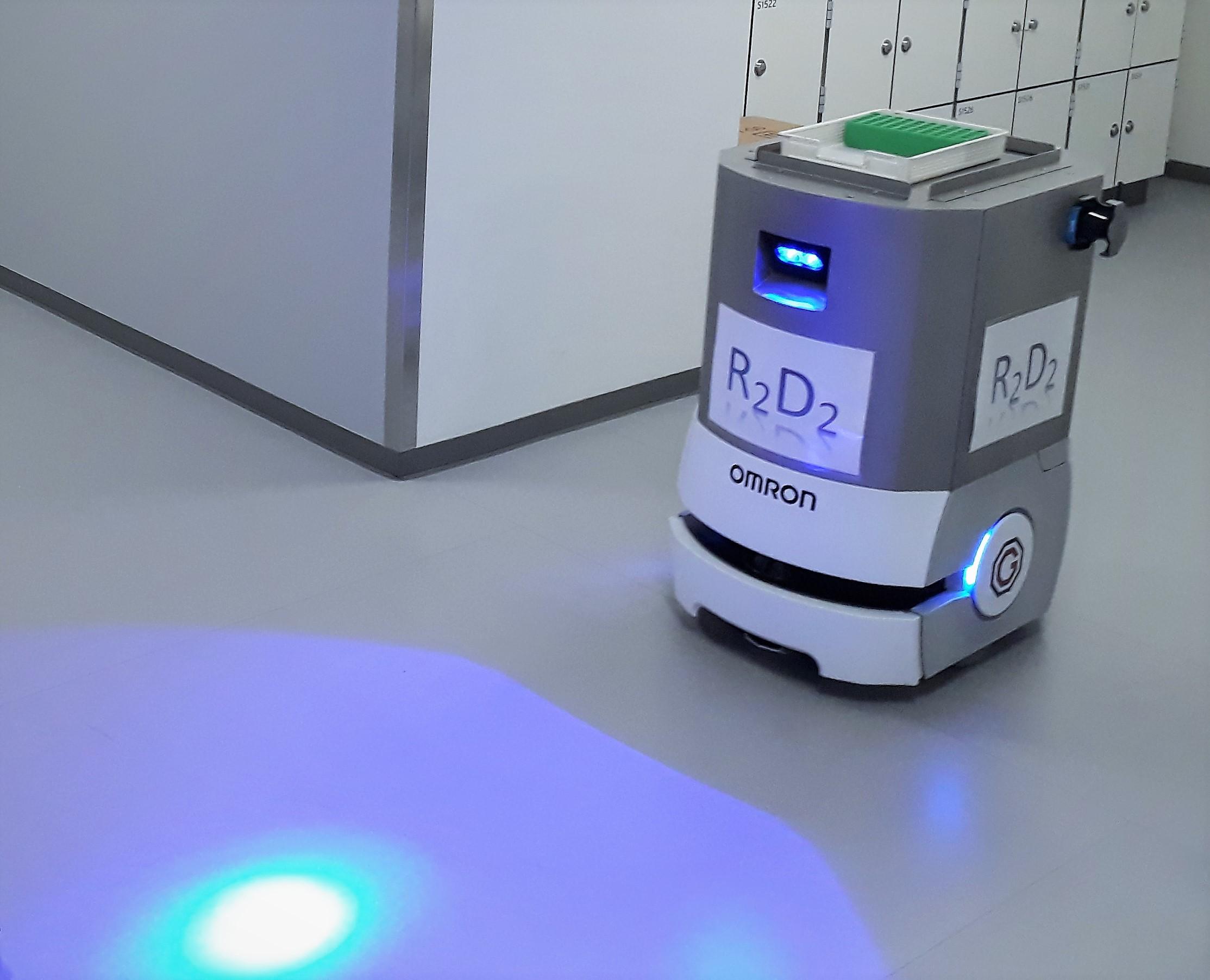 omron mobil robot