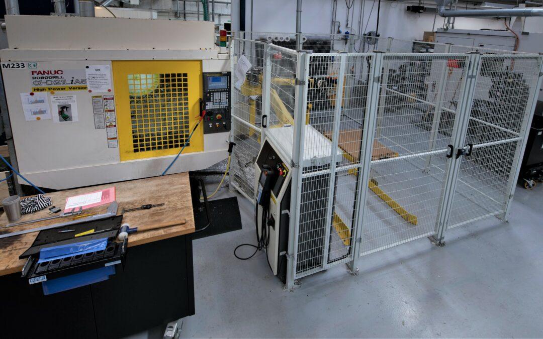 Plastproducent vokser støt med automation