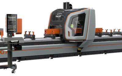Ny 5‑akset CNC maskine fraTekna